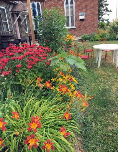 Church Key Brewing garden