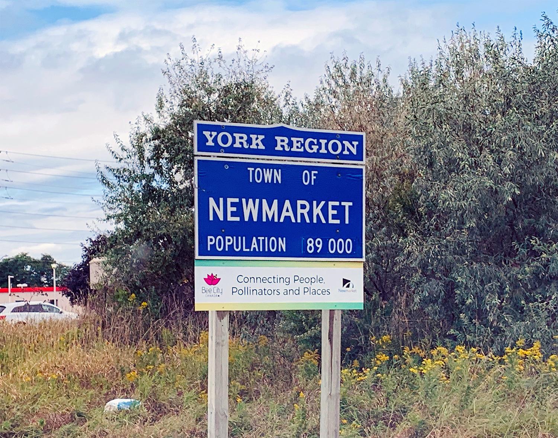 Newmarket Sign