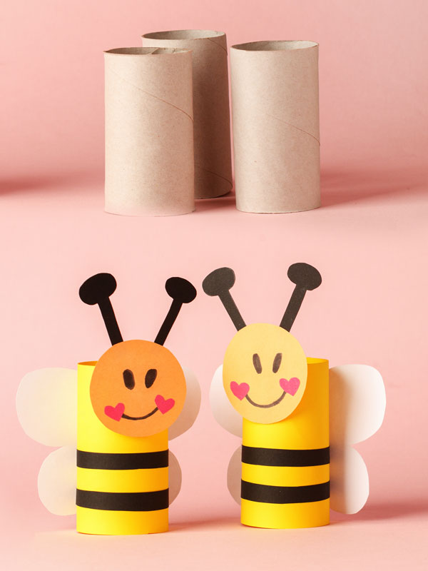 Paper Bees Craft