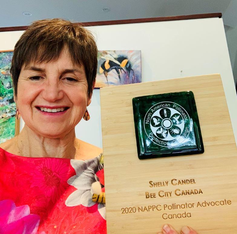 Shelly Candel Pollinator Partnership Award