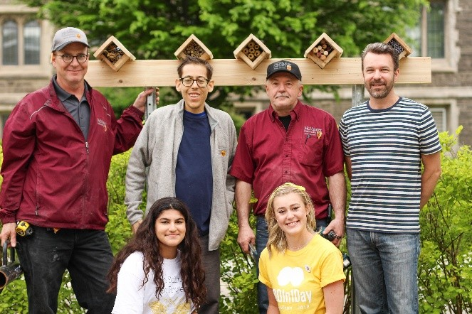 McMaster Bee Boxes